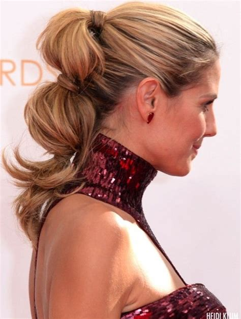 hairstyle ideas ponytail 11 heidi klum hairstyles classic hairstyle popular haircuts