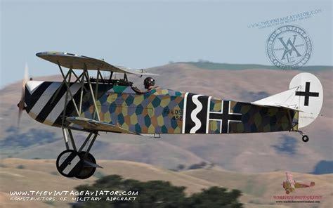Renovate by Fokker Dvii The Vintage Aviator