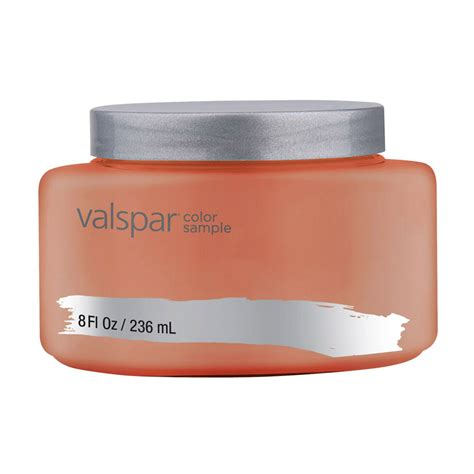 shop valspar terra cotta interior satin paint sle at lowes