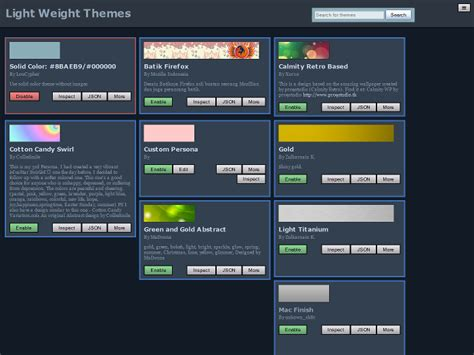 firefox themes manager lightweight themes manager add ons for firefox