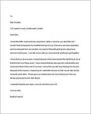 Break Letter Husband 40 romantic love letters