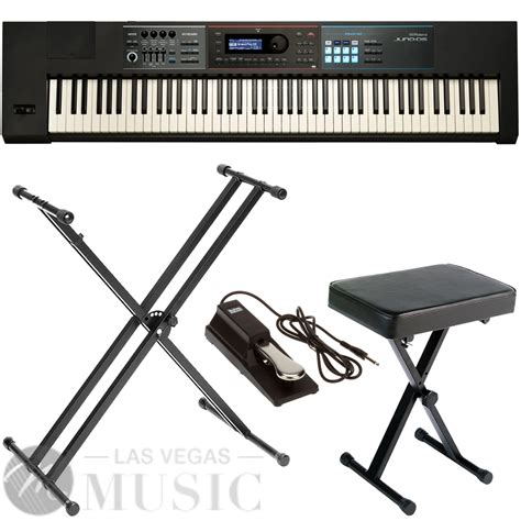 Keyboard Roland 88 Tuts roland juno ds88 synthesizer 88 weighted key with x stand x bench sustain pedal las vegas