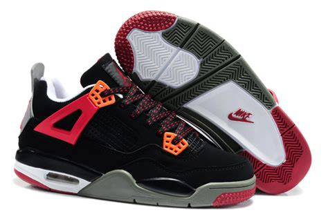 air kid shoes quality nike air 4 shoes kid s black grey