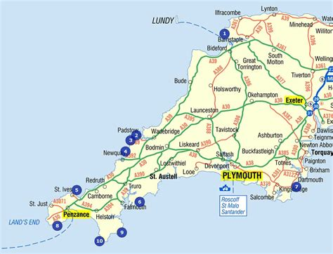 map uk beaches 10 best beaches you need to visit in cornwall and