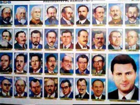 lista los presidentes de mexico las edades de los presidentes la voz del norte