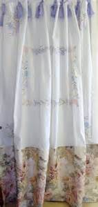 Shabby Chic Shower Curtains Shabby Chic Shower Curtain Vintage Embroidery By Bohobagsnthings