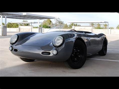 Porsche Replika Bausatz by Porsche 550 Spyder Replica Youtube