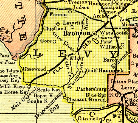 Levy County Search Levy County 1900