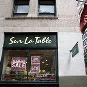 Sur La Table Soho by Sur La Table Soho New York Store Shopping Guide