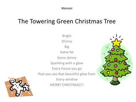 christmas tree poems for children poems