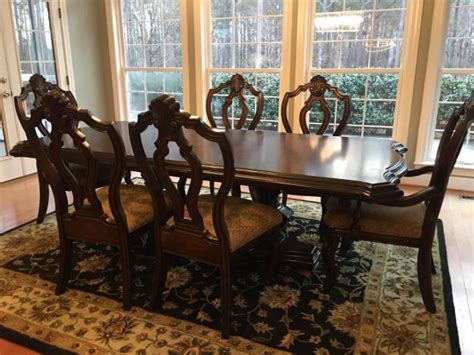 formal dining room table   chairs   villa