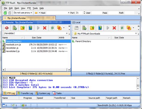 tutorial filezilla xp ftp rush a free ftp client worth trying instant fundas