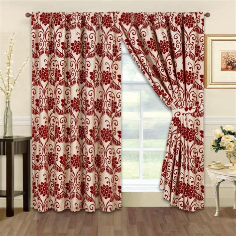 red beige curtains red and beige curtains 28 images beige and red