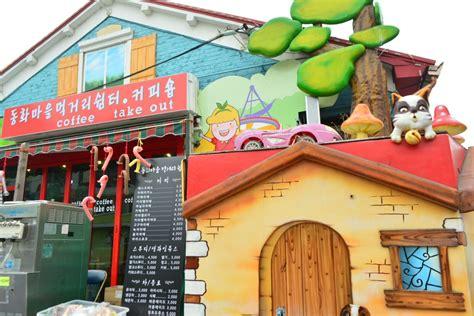 songwol dong desa wisata unik ala negeri dongeng  korea