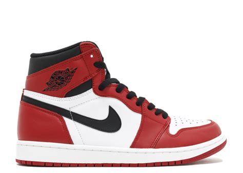 Nike Air 1 Retro High White Chicago air 1 retro high og quot chicago quot white black varsity