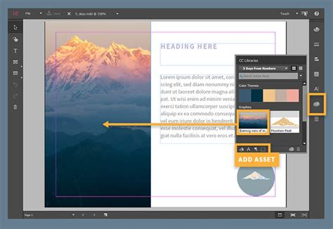 layout menu touch screen touch screen layout for windows adobe indesign cc tutorials
