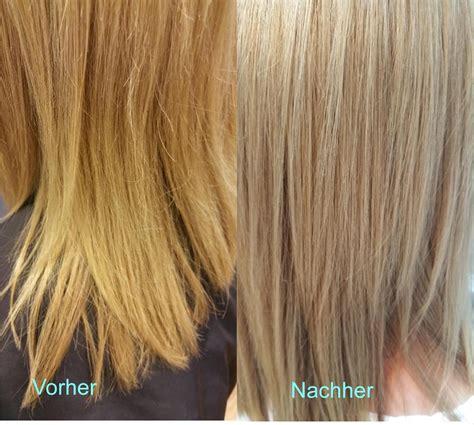 Haare Blondieren by Die Gro 223 E Zauberrei Blond Gelbstich Nach Blondieren