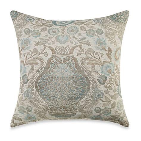 24 inch sofa pillows majesty aquamarine 24 inch throw pillow bed bath beyond