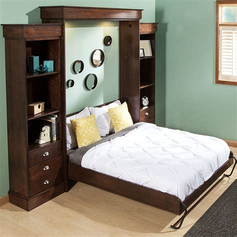 vertical mount deluxe murphy bed hardware rockler woodworking and hardware