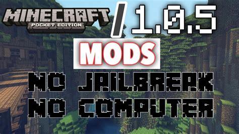 mod games no jailbreak how to get mods on minecraft pe 1 0 9 no jailbreak ios
