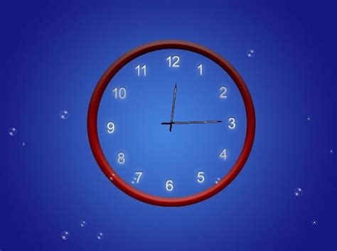 themes big clock abstract clock animated wallpaper a beautiful animated
