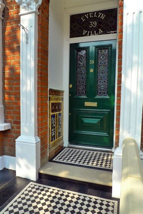 Decorative Front Step Tiling Rated People Blog Front Door Tiles