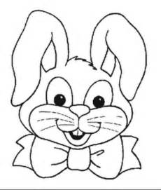 Rabbit Face Coloring Page Coloring Pages
