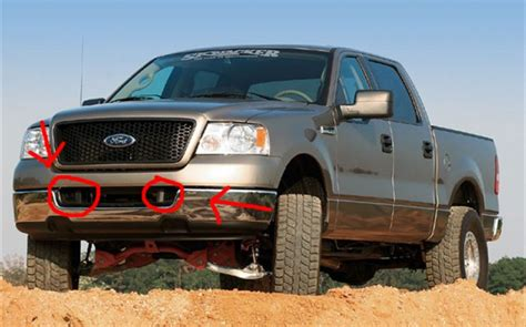 Can I Get Fog Lights That Fit Here Ford F150 Forum