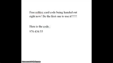 Roblox Gift Card Codes - free roblox gift card codes lamoureph blog