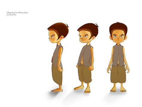 Or Characters Kid Character For 2d Bhoot Gaun Models Desktop Backgrounds And Kid