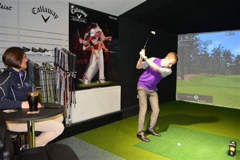 Perfect Your Swing With The Indoor Golf Studio Hever Castle