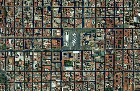 grid pattern human geography landscape morphology in mexico city