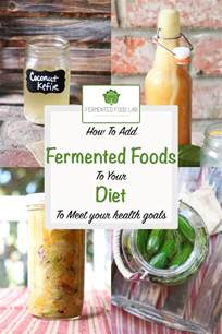 how to add fermented foods to your diet
