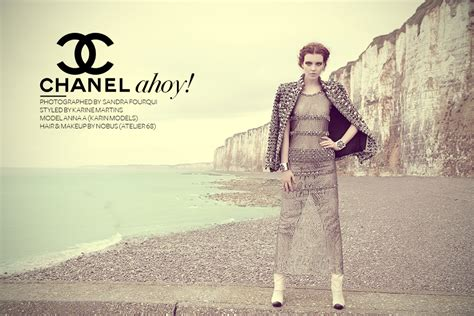 Opulence Beauty Home Fashion Editorials Chanel Ahoy Fashion Editorial