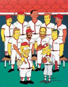 Don Mattingly Simpsons by Major League Baseball Players The Simpsons Ninety