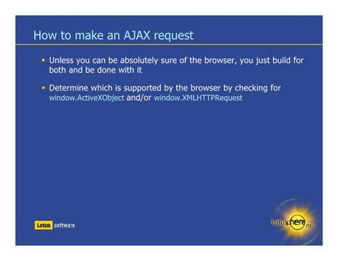 net mixer xmlhttprequest to make ajax call using javascript json and ajax jumpstart