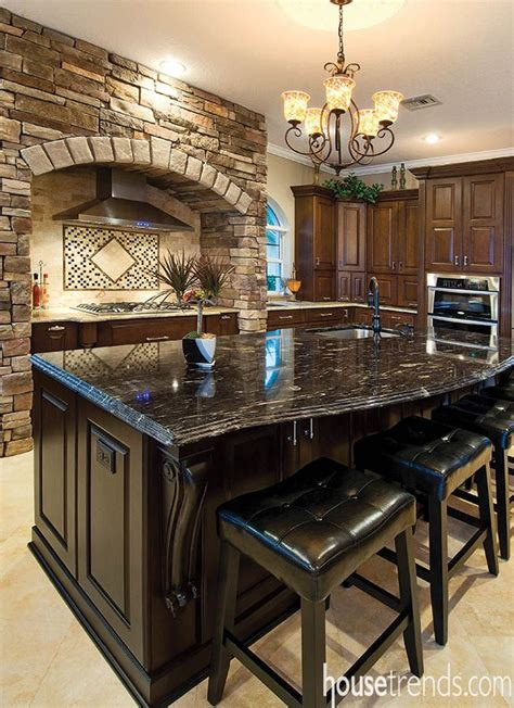 kitchen island granite countertop best 25 black kitchen island ideas on kitchen