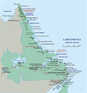 map of labrador canada labrador motorcycle tour guide scotia atlantic canada
