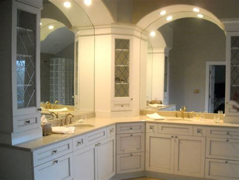 Bathroom Cabinets L Shaped What Are The Demensions Of The L Shaped Vanity