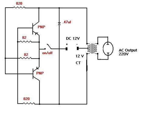 6v to 220v inverter circuit diagram inverter 12v to 220v free electronic diagram circuit