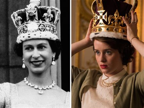 elizabeth actress crown cast of the crown vs real royal family insider