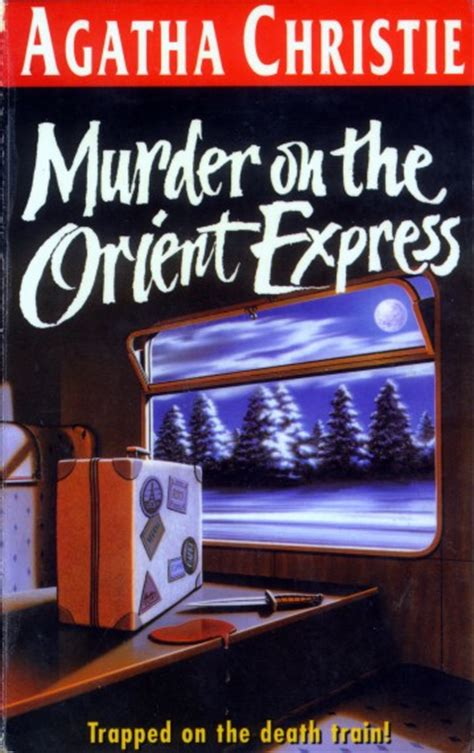 Novel Murder On The Orient Express Cover Agatha Christie agatha christie murder on the orient express the lighted
