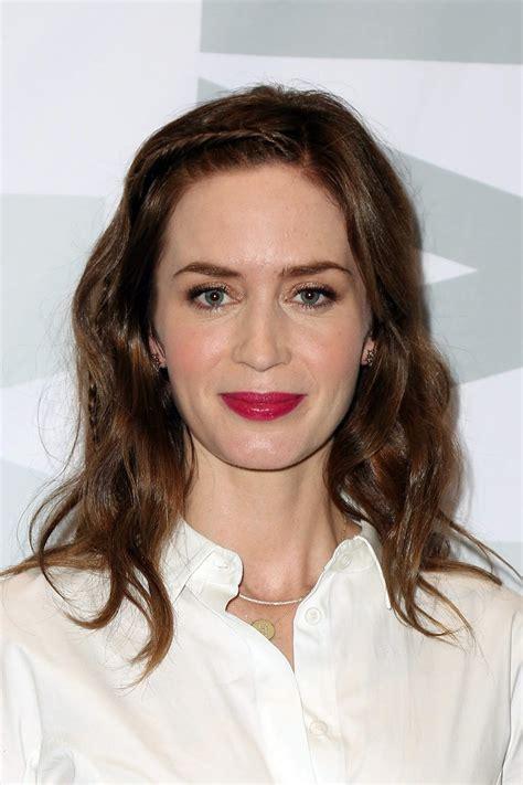 actress emily blunt actress emily blunt sicario new york screening at
