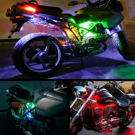 harley led light rgb multi color smd 5050 led light x 12 for