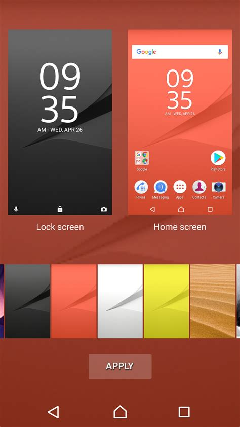 xperia home launcher apk xperia home beta 10 2 a 3 0 app update brings wallpaper picker option