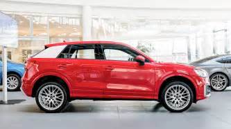 Audi Crossover Price New Audi Q2 Crossover Arrives At Audi Forum Neckarsulm