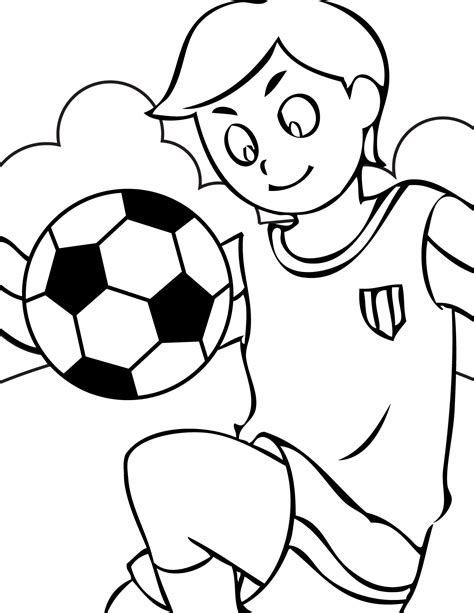 Free Printable Soccer Coloring Pages For Kids Colouring Sheets For Children Printable