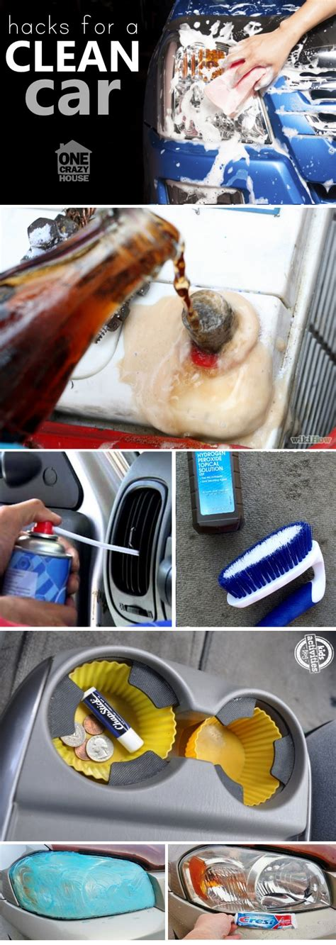 what can i use to clean my car seats 12 genius car cleaning tip that will get your car clean fast