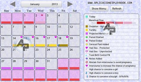 Calendario Ovulacion Period Calendar Premium Hd Aplicaci 243 N Calendario De