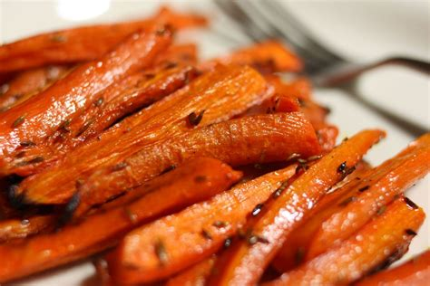 sweet and delicious recipe roasted carrots with dates or rasins